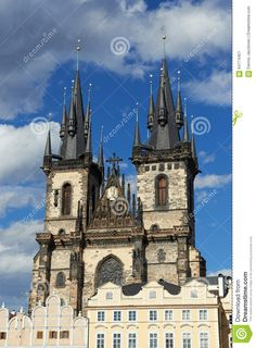 Just sold @Dreamstime: #Church of #Mother of #God before #Tyn in #Prague http://www.dreamstime.com/stock-photo-church-mother-god-tyn-prague-blue-skies-background-image64774451