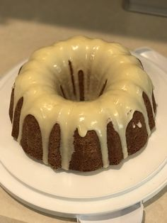[Homemade] A request for more...grains of paradise nutmeg cardamom rosemary allspice star anise and crystallized ginger Granny Smith apple bundt with rum glaze.