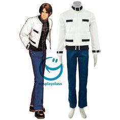 King of Fighters99 Kyo Kusanagi Fighting Uniform Cosplay Costume  #KingofFighters99 #KyoKusanagi #Cosplay #Costume