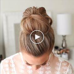 Messy Updo Hairstyle / Latest Hair Trends 2020 A chic style of hairstyle that wo. Graduation Hairstyles, Homecoming Hairstyles, Formal Hairstyles, Latest Hairstyles, Easy Hairstyles, Straight Hairstyles, Hairstyle Ideas, Keratin, Messy Updo