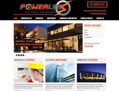 Brisbane, Commercial Electrician, Professional Electrician, Portfolio Web Design