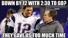 New England Patriots Logic