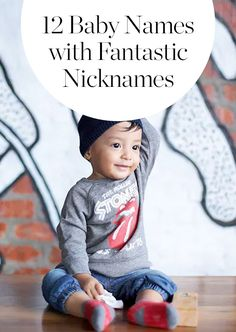 These baby names have the best nicknames hands down. Look no further for the best baby name inspiration for little boys and girls.