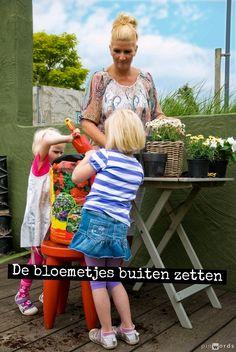 De bloemetjes buiten zetten #ECOstyle #citaten #spreuken