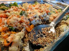Quinoa - Gemüse - Auflauf, ein sehr schönes Rezept aus der Kategorie Gemüse. Bewertungen: 146. Durchschnitt: Ø 4,3.