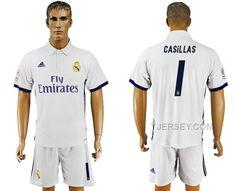 http://www.yjersey.com/201617-real-madrid-1-casillas-home-soccer-jersey-for-sale.html 2016-17 REAL MADRID 1 CASILLAS HOME SOCCER JERSEY FOR SALE Only 35.00€ , Free Shipping!