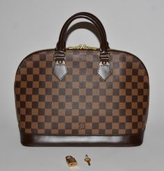 Louis Vuitton Damier Ebene Alma Pm Brown Satchel. Save 68% on the Louis Vuitton Damier Ebene Alma Pm Brown Satchel! This satchel is a top 10 member favorite on Tradesy. See how much you can save
