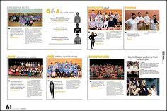 Carry theme with groups shots and team photos. These pages still need to have some aspect of the theme carried out—visually, verbally or both. Yearbook Pages, Yearbook Ideas, School Staff, Middle School, Oak Grove High School, National Honor Society, Being Used Quotes, Yearbooks, References Page