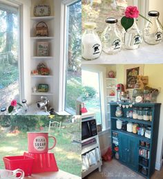 glimpses of my baking Pantry storybook woods
