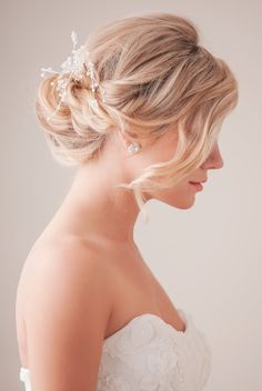 simple and pretty wedding hairsyles