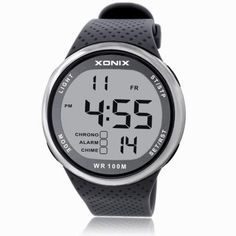 XONIX Fashion Men Sports Watches Waterproof 100m Outdoor Fun Digital Watch Swimming Diving Wristwatch Reloj Hombre Montre Homme Who like it ?  #shop #beauty #Woman's fashion #Products #Watch