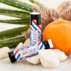 Even a big, strong man wants soft, kissable lips. Moisturize with shea, mango, and cocoa butter, and protect with beeswax for lips no one can resist. With a crisp peppermint essential oil flavor, the Man Lip Balm will keep your lips pucker-ready no matter how manly you are. $5