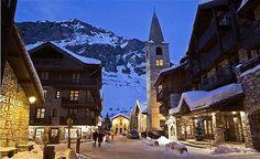 Val D'isere at night Visit www.elegantski.com - French Alps