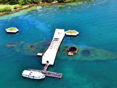 Pearl Harbor Memorial, visited back in 2008 and fell in love. It is so beautiful and an extremely special place to be. Hopefully I can go back sooner than later :)