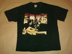 Rare-Vintage-1995-BON-JOVI-034-CROSSROAD-034-Concert-Tour-L-Tee-T-Shirt