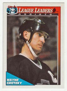 Wayne Gretzky # 224 - 1991-92 O-Pee-Chee Hockey Hockey Cards, Baseball Cards, Ice Hockey Players, Wayne Gretzky, Edmonton Oilers, National Hockey League, The Past, Sports, Nhl