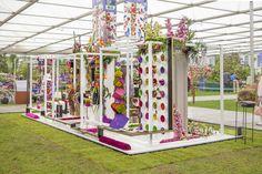 Interflora exhibition design at RHS Chelsea Flower Show 2013