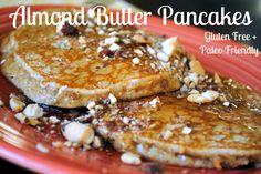 Almond Butter Pancakes: Gluten-Free + Paleo Friendly