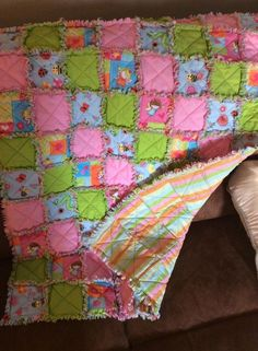 Quilt I made for Baby Adalyn.