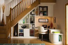 Stylish Understairs Study – Home Study Furniture – Neville Johnson
