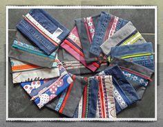 Etuis van oude jeans