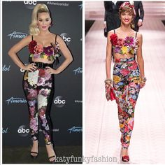 wearing Spring 2019 Ready-to-Wear on tonight! 💐 *Katy's pants differ slightly from the models! Her Music, Katy Perry, Ready To Wear, Singer, Models, My Favorite Things, Spring, Pants, How To Wear