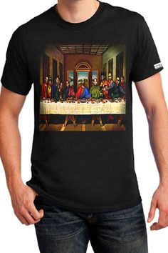 TFFY8006 - T-SHIRTS - MEN LAST SUPPER