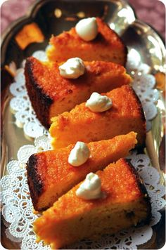 MIDDLE EASTERN ORANGE CAKE (OMG this sounds amazing!!) No flour is used !!
