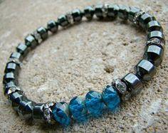 Charm Bracelet Bead Bracelet Gemstone Bracelet by BeJeweledByCandi