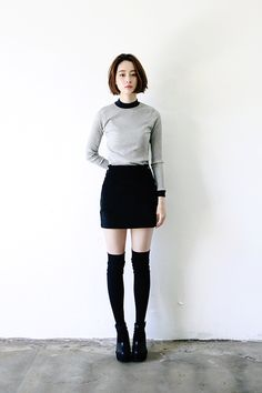 skirt + socks