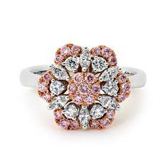 Pink diamond perfection