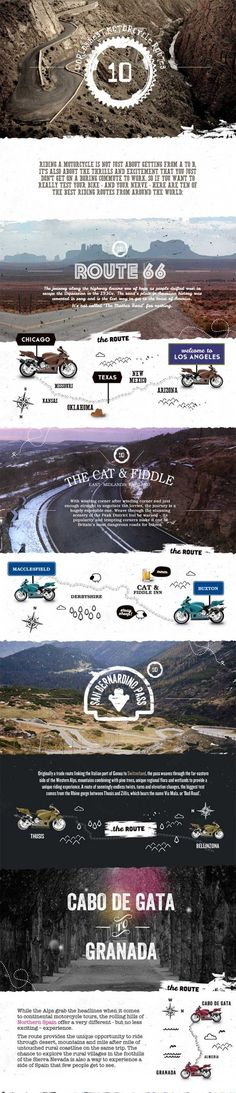 World's Best Motorcycle Routes