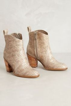 Anthropologie Oakley Ankle Boots