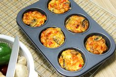 Tomatoes and Bacon Egg Muffins Recipe: How to Make Tomatoes and Bacon Egg Muffins Recipe Beyond Diet Recipes, Healthy Eating Recipes, Cooking Recipes, Healthy Food, Breakfast Items, Breakfast Dishes, Breakfast Recipes, Breakfast Muffins, Hashbrown Breakfast