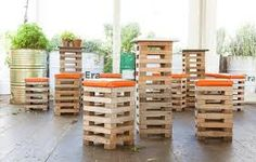 shipping pallet pop up cafe                                                                                                                                                     More