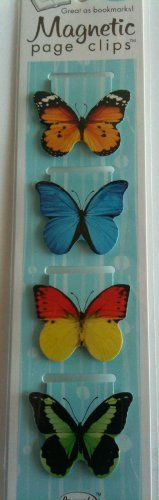 Butterflies Magnetic Page Clips Set of 4 By Re-marks Re-Marks http://www.amazon.com/dp/B00A6CTZIA/ref=cm_sw_r_pi_dp_w0klub11APSMZ