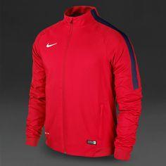 Nike Squad 15 Sideline Woven Jacket - Crimson Obsidian White. Team Wear,  Men s Football ... 490ba129e886