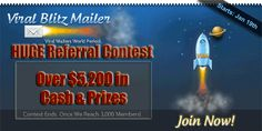 HUGE Referral Contest at Viral Blitz Mailer!