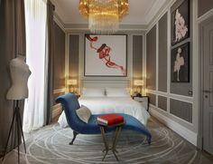 Regis Rome, Couture Suite, Interior Design by HBA / Hirsch Bedner Associates Hba Design, Design Hotel, Design Firms, Interior Design Magazine, Design Simples, Hotel Interiors, Hospitality Design, Best Interior, Villas