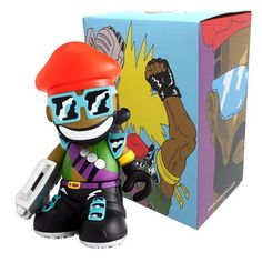 "Kidrobot x Major Lazer - 8"" Mascot"