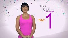 Live Big 30 Day Challenge: Day 1 - Get in shape with Ali Vincent's 30 Day fitness plan.