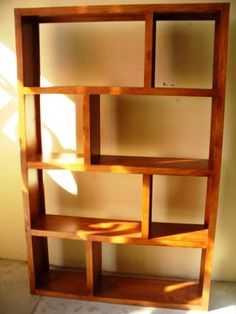 Delta - timber bookcase