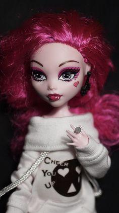 Monster High Draculaura custom doll