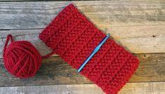 Black Tweed Chunky Crochet Ear Warmer Pattern - A More Crafty Life Crochet Ear Warmer Pattern, Crochet Pumpkin Pattern, Crochet Patterns, Blanket Patterns, Crochet Ideas, Chunky Crochet, Crochet Yarn, Crocheted Afghans, Chunky Wool