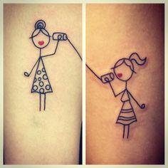 #sistertattoos: Ein Herz und eine Seele: Die schönsten Tattoos für
