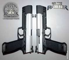 tomb raider... customized desert eagle Find our speedloader now!  http://www.amazon.com/shops/raeind