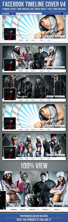 FB Timeline Cover V4