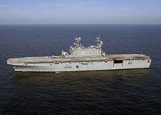 The USS Peleliu (LHA-5) is a Tarawa-class amphibious assault ship of the United States Navy, named for the Battle of Peleliu of World War II. Entering service in 1980, she has been deployed to the Persian Gulf on several occasions, performed an evacuation of U.S. Naval Base Subic Bay following the eruption of Mount Pinatubo, operated with the INTERFET peacekeeping taskforce, participated in Pacific Partnership deployments, and provided assistance following the massive floods in Pakistan in…