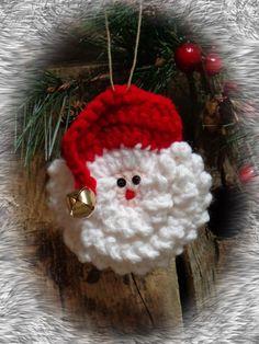 Primitive Christmas Ornament Primitive Santa by CountryLifeisBest