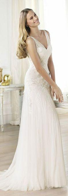 Pronovias Wedding Dress 2014 ~ LANDRA